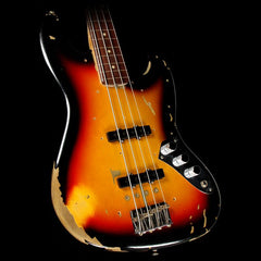 Fender Custom Shop Jaco Pastorius Tribute Jazz Bass 3-Tone Sunburst