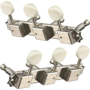 All Parts Deluxe Style Tuning Machines (Nickel)