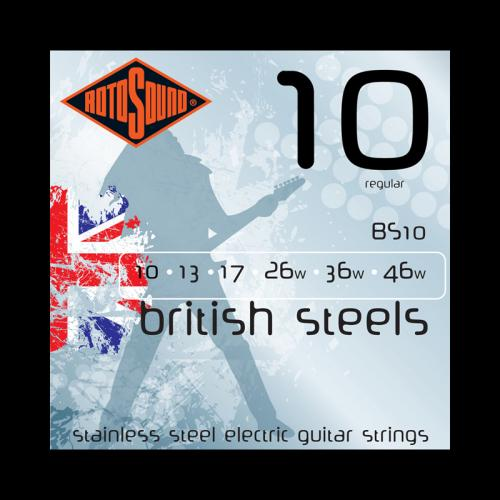 Rotosound BS10 British Steel Electric Strings (10-46)