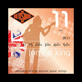 Rotosound JK11 Jumbo King Phosphor Bronze Acoustic Strings (11-52)