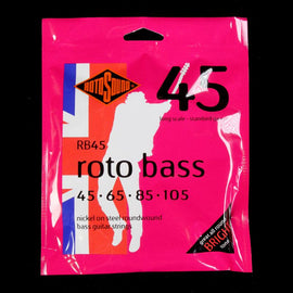 Rotosound RB45 Roto Bass Strings (45-105)