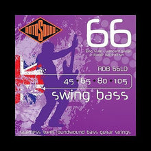 Rotosound RDB66LD Swing Bass 66 Double-Ball End Strings (45-105)