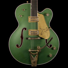 Gretsch Custom Shop Masterbuilt Stephen Stern '59 Falcon Heavy Relic Electric Guitar Sage Green Metallic