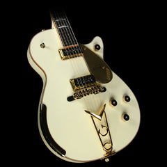 Gretsch Custom Shop Masterbuilt Stephen Stern  '57 Penguin Electric Guitar Vintage White