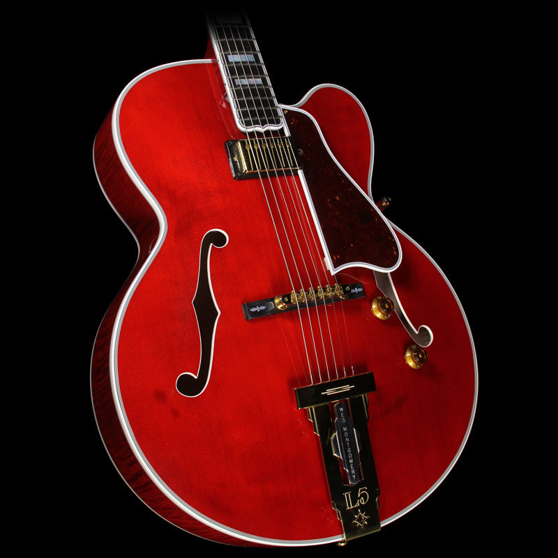Gibson Custom Shop Wes Montgomery L5 Electric Guitar Wine Red