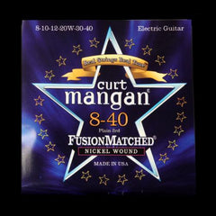 Curt Mangan Fusion Matched Nickel Wound Electric Strings (8-40)