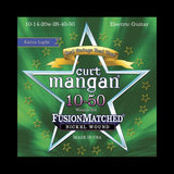 Curt Mangan Fusion Matched Nickel Wound Electric Strings (10-50)