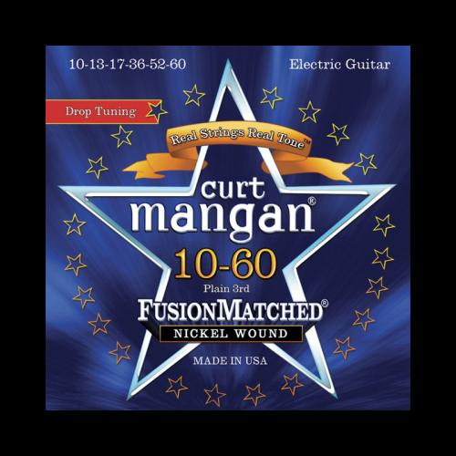 Curt Mangan Fusion Matched Nickel Wound Electric Strings (10-60)
