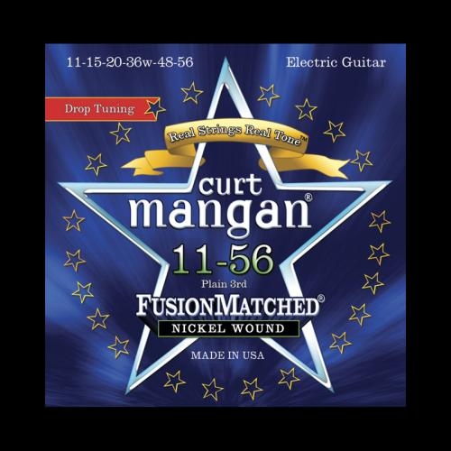 Curt Mangan Fusion Matched Nickel Wound Electric Strings (11-56)