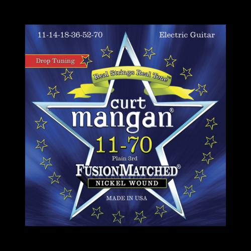 Curt Mangan Fusion Matched Nickel Wound Electric Strings (11-70)
