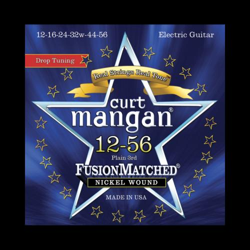 Curt Mangan Fusion Matched Nickel Wound Electric Strings (12-56)
