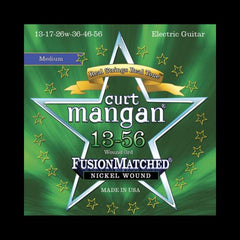 Curt Mangan Fusion Matched Nickel Wound Electric Strings (13-56)