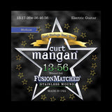 Curt Mangan Fusion Matched Stainless Wound Electric Strings (13-56)