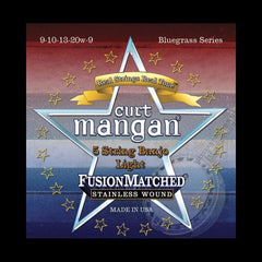 Curt Mangan Fusion Matched Stainless Wound 5-String Banjo Strings (09-09)