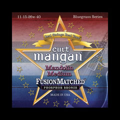 Curt Mangan Fusion Matched Phosphor Bronze Mandolin Strings (11-40)