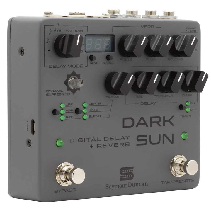 Seymour Duncan Mark Holcomb Signature Dark Sun Digital Delay and Reverb Pedal 11900-017