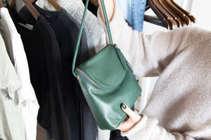 How We're Styling Green Accessories for Spring