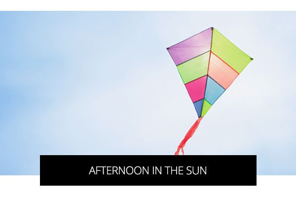 Colorful Kite against blue sky background