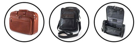 Mutli-Pocket Computer Brief, Travel Pack, Hanging Travel Kit