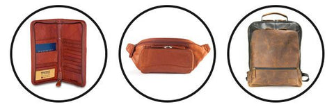 RFID Zipper Travel Organizer, RFID Waist Pack, Bryon Backpact