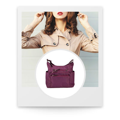 Polaroid photo of Osgoode Marley Everyday Tote in Almond Nylon