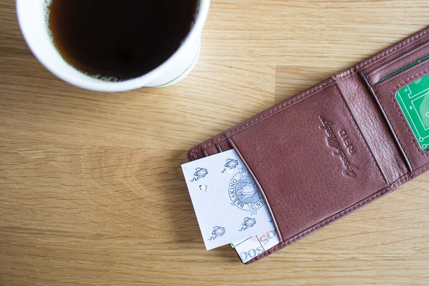 RFID Mag. Money Clip Wallet BiFold