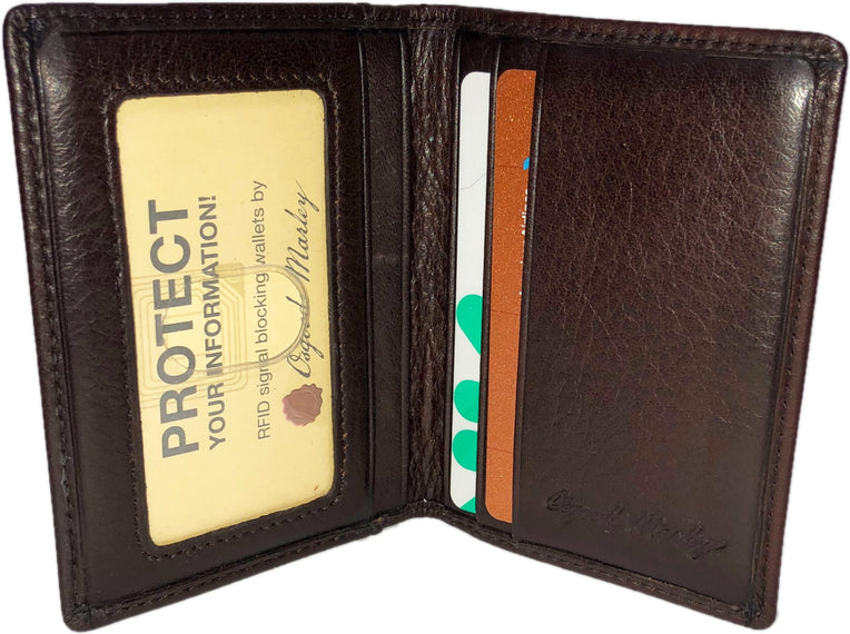 RFID Double ID Card Case