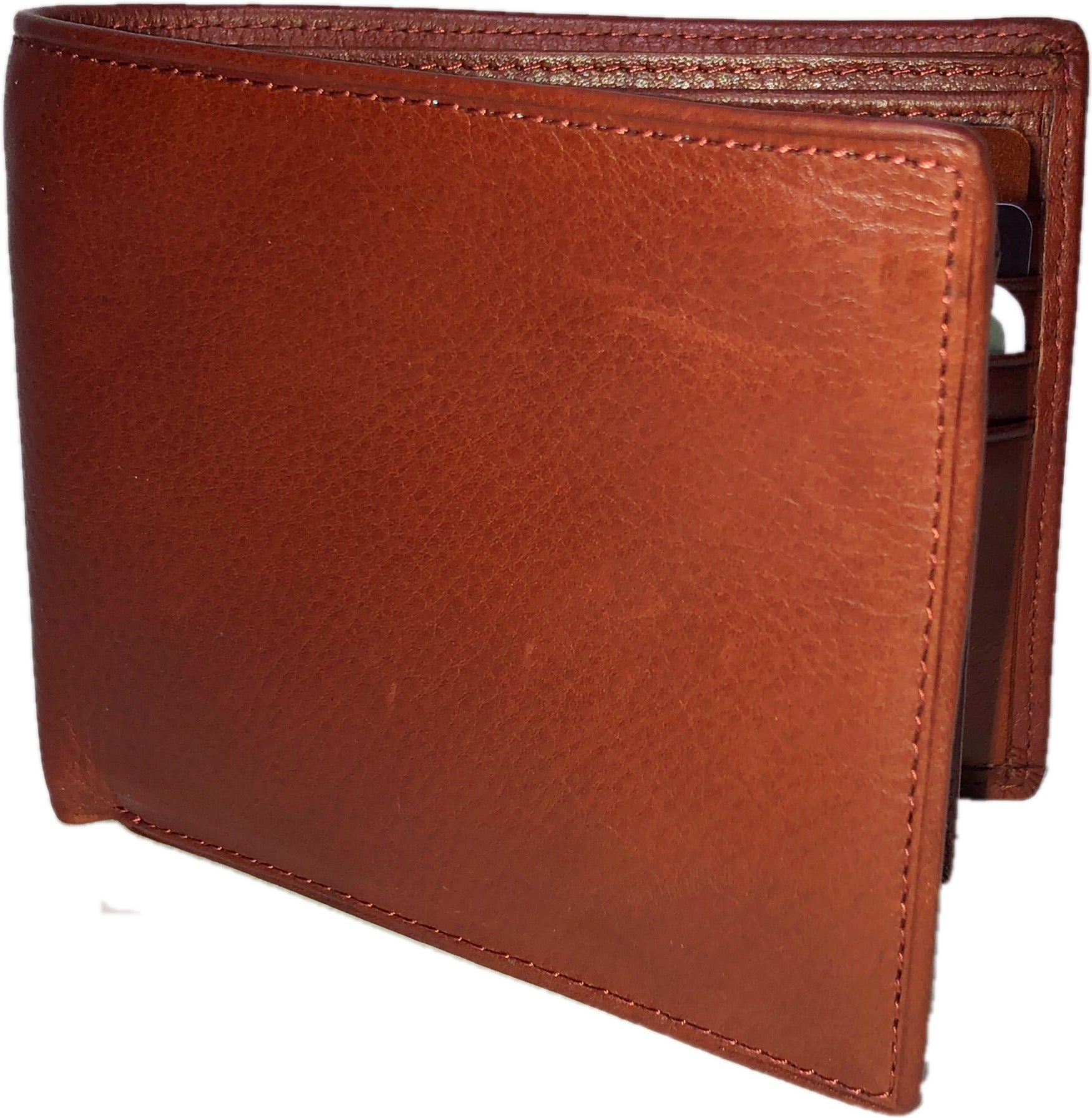 1241 RFID Security Passcase Brandy