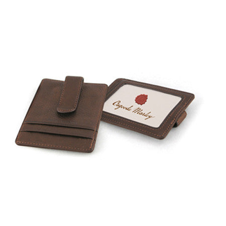 ID Front Pocket Money Clip Wallet