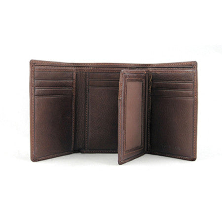 RFID Extra Page Trifold Wallet