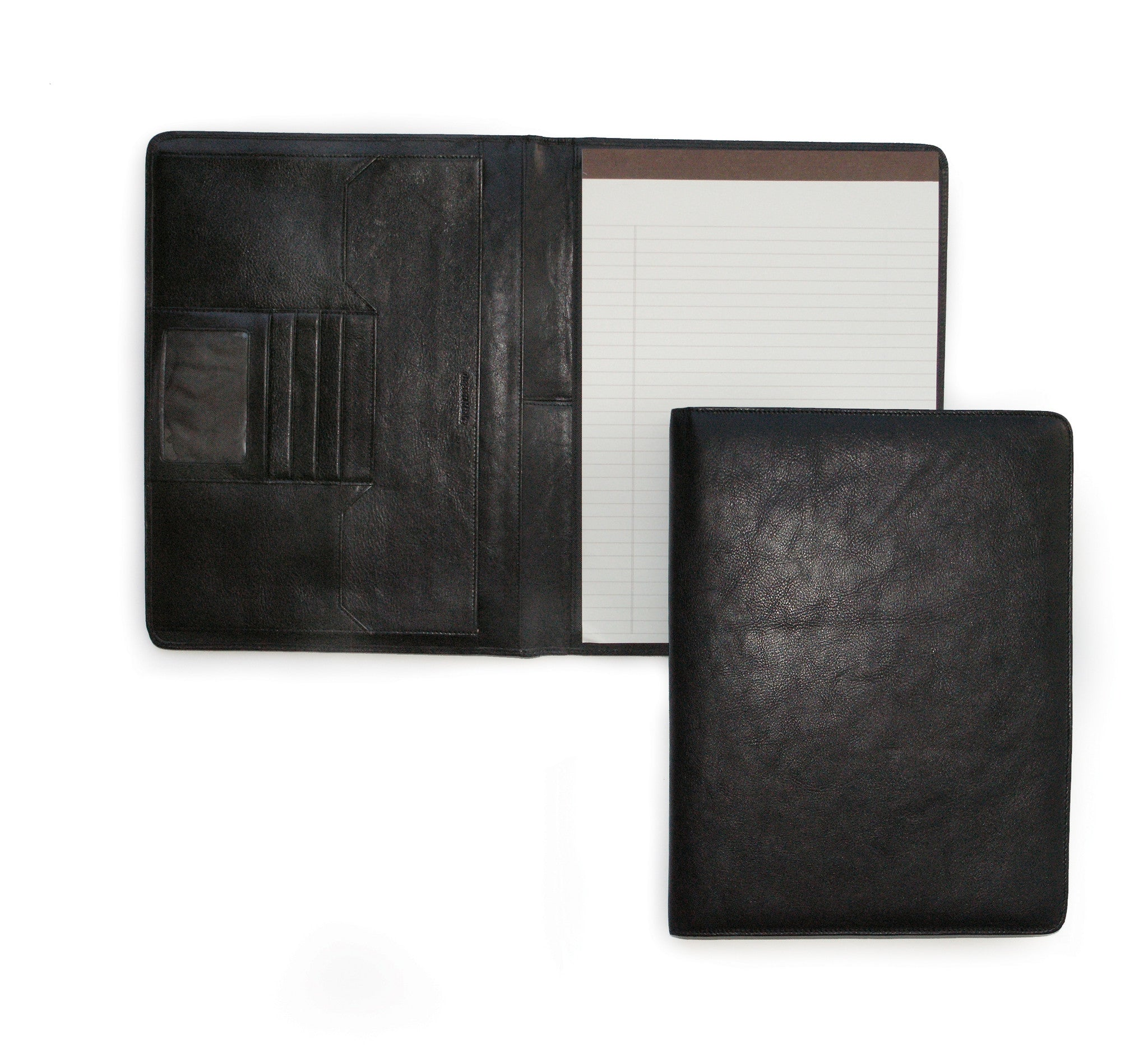 RFID Deluxe File Leather Pad