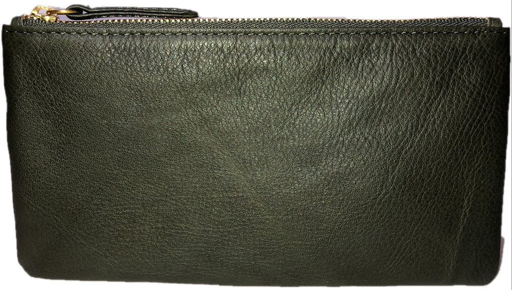 1909 Zippered Case Olive