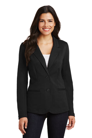 Wedgewood Middle Schools Ladies' Knit Blazer Embroidered