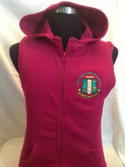 AKA  Hooded Pink Fleece