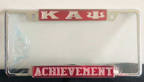 Kappa Licence Plate Frame - Achievement