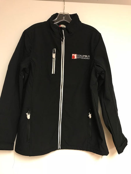 PAR CCS Full Zipper Jacket Black w/ White Trim MEN'S