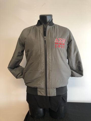 Delta Bomber Jacket - Reversible
