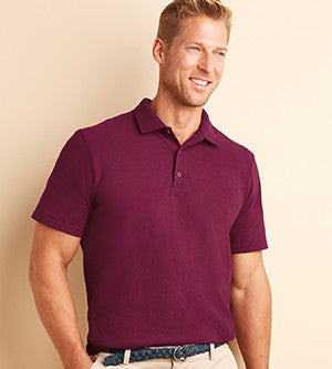 Sherwood Men's Pique Polo Embroidered-50/50 blend