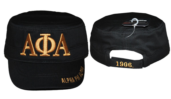 ALPHA PHI ALPHA Hat Captain Black