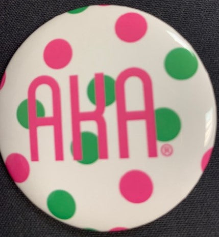 AKA Button Polka Dot