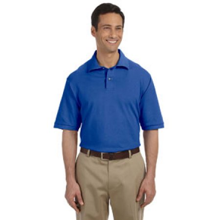 Wedgewood Middle School Men's Pique Polo Embroidered-50/50 blend