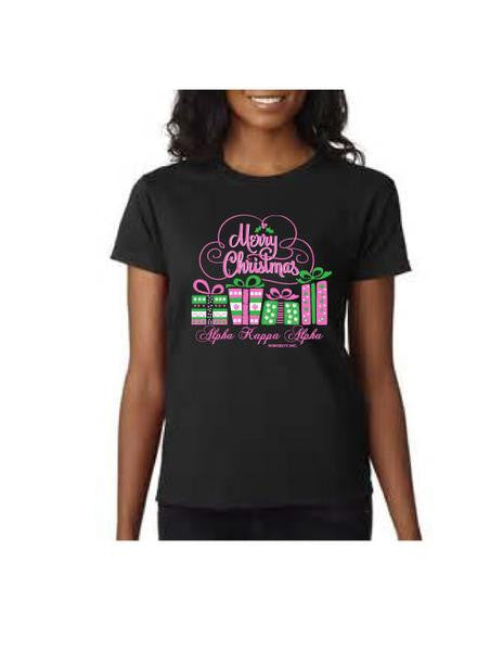 AKA Tee-Shirt Christmas Present Short Sleeve Tee-Shirt