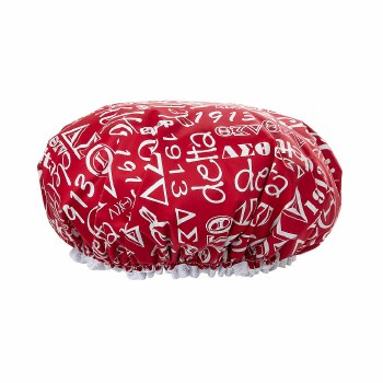 Delta Shower Cap (red or black)