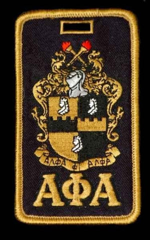 Alpha Phi Alpha Luggage Tags