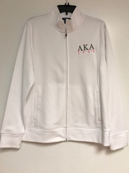 AKA Jacket Full-Zip White