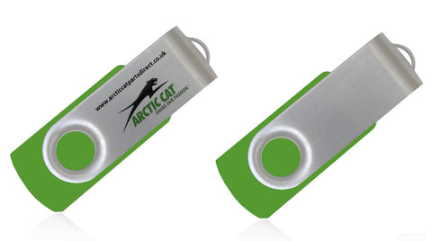 Arctic Cat 700 Diesel Workshop Manual USB Drive