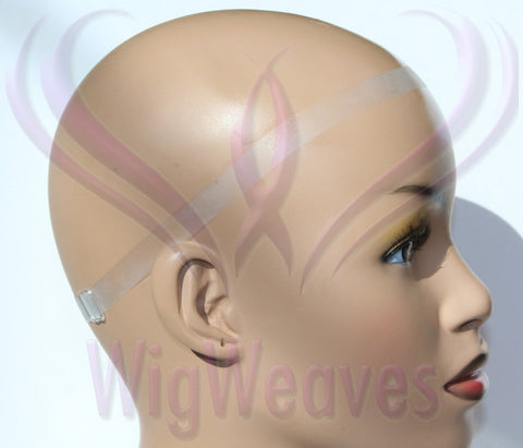 Lace Wig Strap Single - Clear