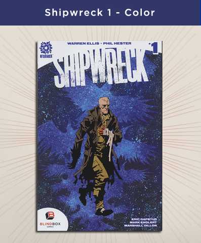 Shipwreck #1 - Full Color Variant Cover