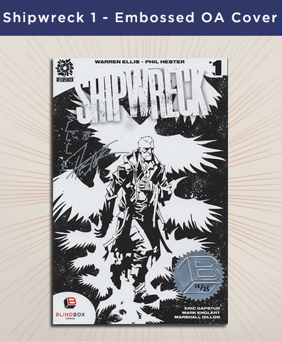Shipwreck #1 - Embossed Artist Series Cover