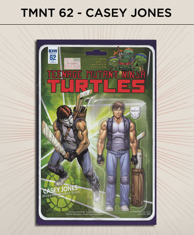 Teenage Mutant Ninja Turtles 62 - Casey Jones Action Figure Cover